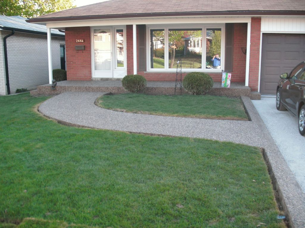 Concrete Walkways Gallery - Concrete Trimmings Ltd